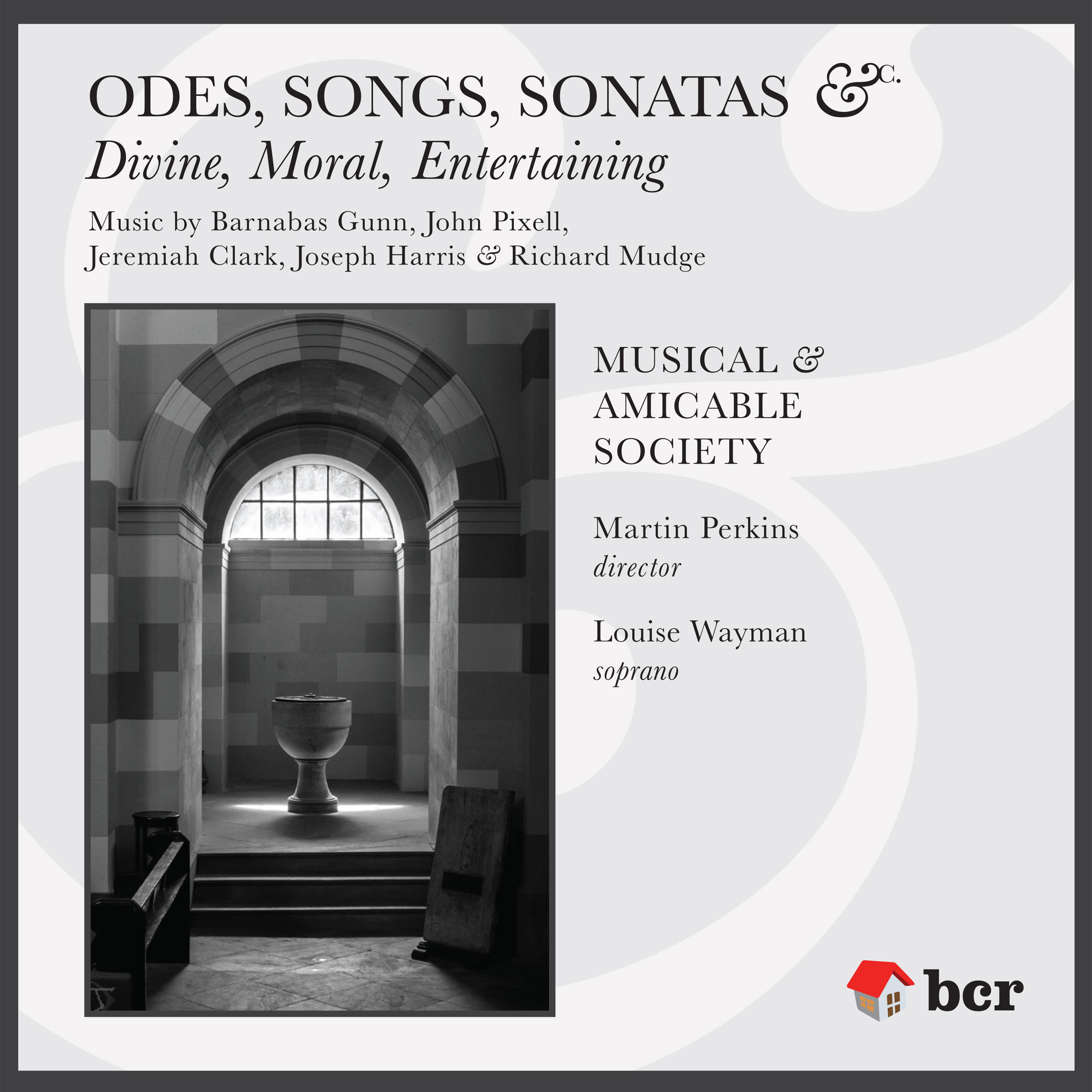 CD cover image of Odes, Songs, Sonatas etc