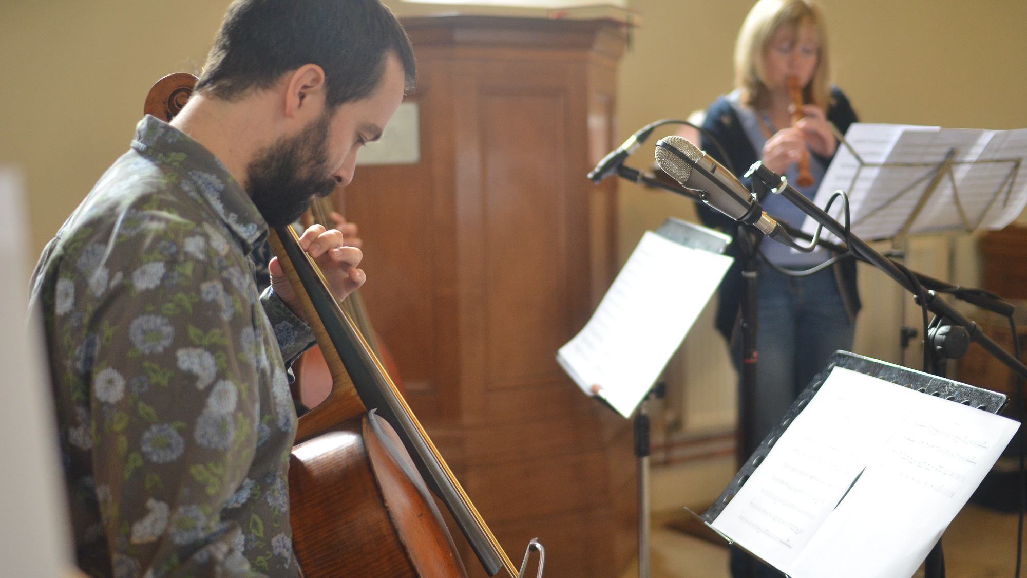 Passacaglia in recording session