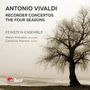 CD cover image of Feinstein Vivaldi disc