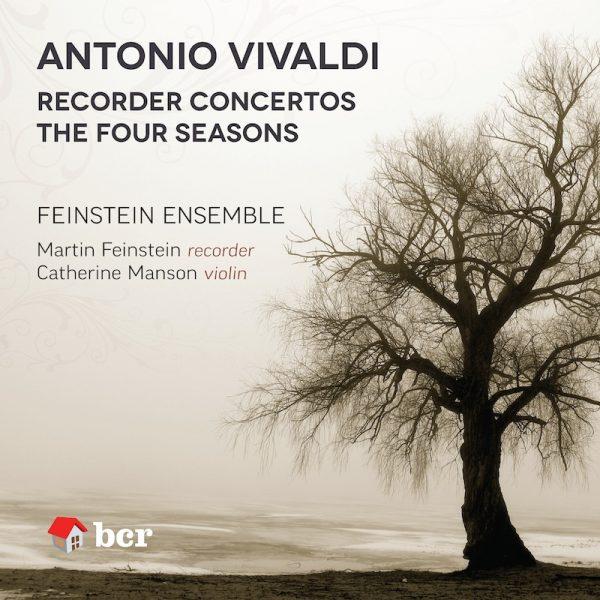 CD cover image of Feinstein Vivaldi disc