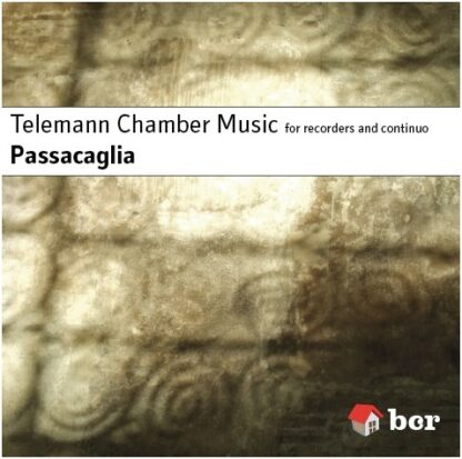 CD cover image of Telemann Chamber Music