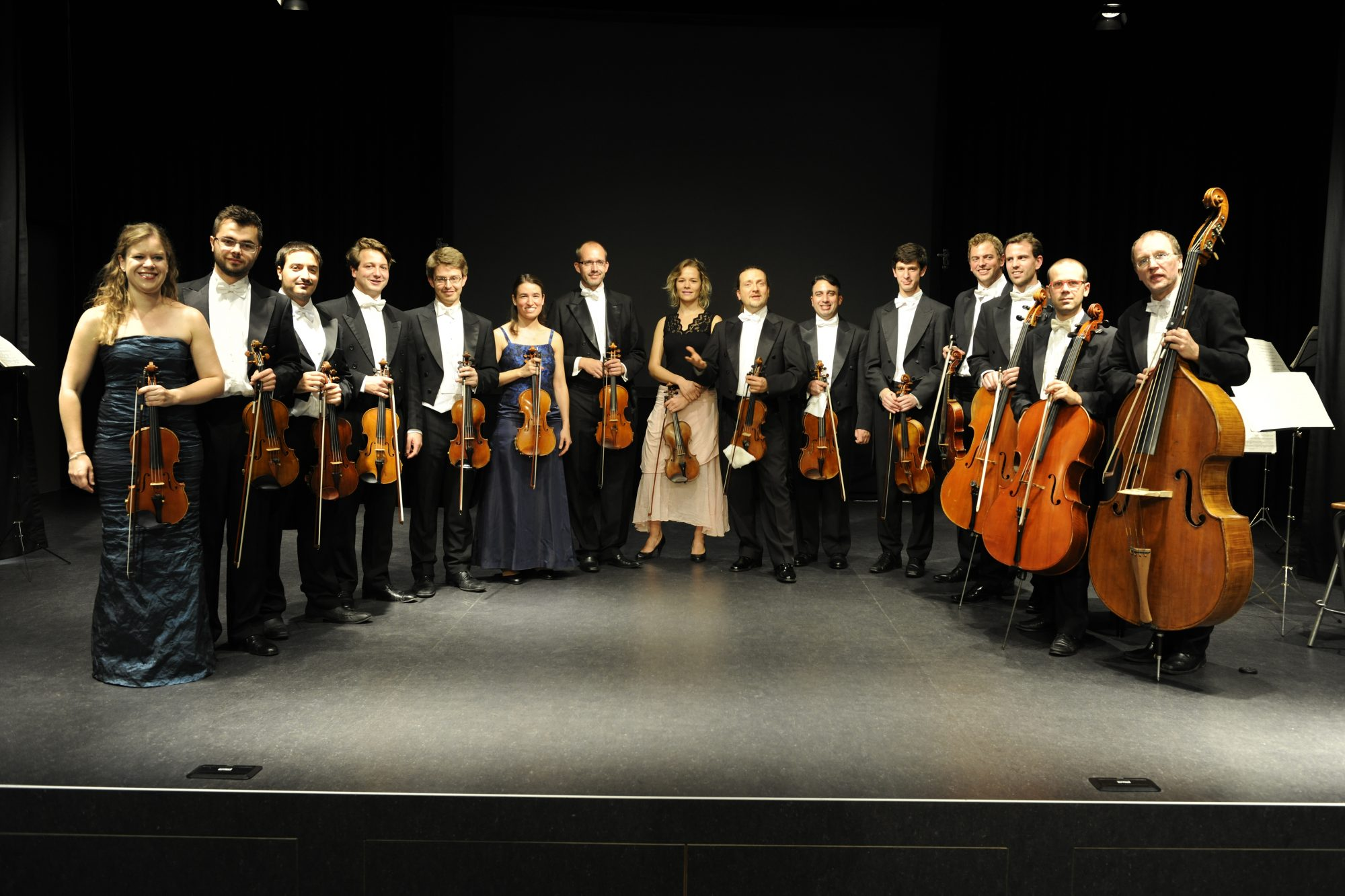 European Union Chamber Orchestra on stage