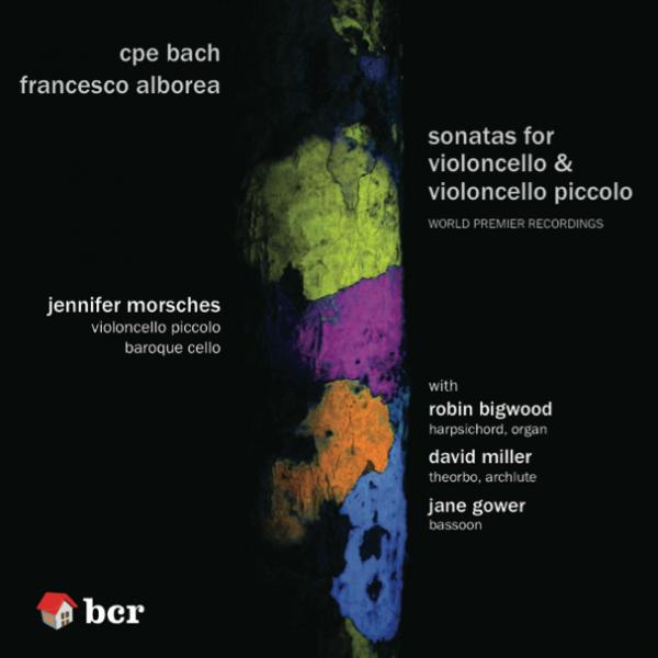CD cover image of CPE Bach & Alborea disc