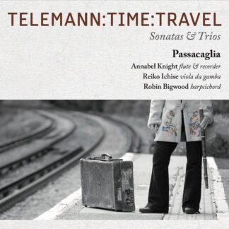 CD cover image of Telemann-Time-Travel